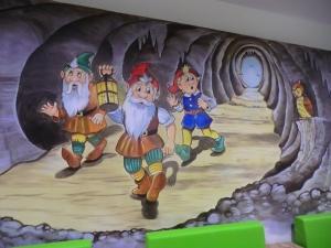 Kinderzimmer Wandmalerei