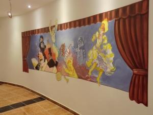 Malerei Hotel