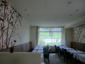 Restaurantbemalung bambus
