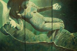 Unterwasserfrau